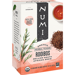 A package of Numi Organic Tea - Rooibos