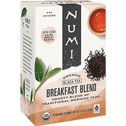 A package of Numi Organic Tea - Breakfast Blend