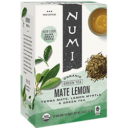 A package of Numi Organic Tea - Mate Lemon