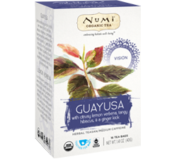 A package of Numi Organic Tea - Vision