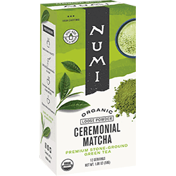A package of Numi Organic Tea - Ceremonial Matcha