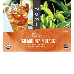 A package of Numi Organic Tea - High Mountain Black Ice™