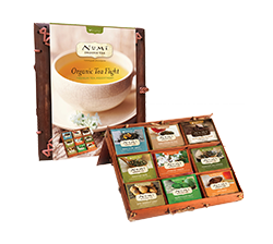 Click here to purchase Organic Tea Flight Gift Set