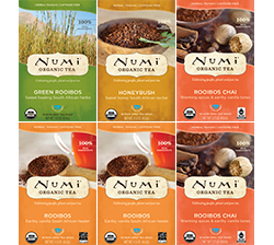 A package of Numi Organic Tea - South African Teasan Variety Bundle