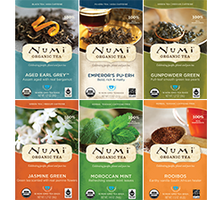 Numi's Top Teas & Teasans Variety Bundle