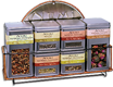 Tea Storage Tins & Display Rack [numis-40141.jpg] - Click for More Information