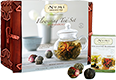 Flowering Tea™ Set in Bamboo [numis-80950.jpg] - Click for More Information