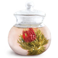A picture Flowering Tea™ products.