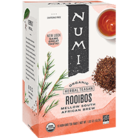 This is the picture of Rooibos under the category NumiTeaStore@IcedTea@Teabags in Numi Organic Tea. Click to add to cart.