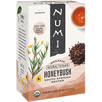 This is the picture of Honeybush under the category NumiTeaStore@IcedTea@Teabags in Numi Organic Tea. Click to add to cart.