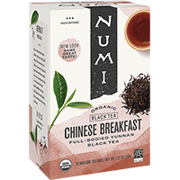 This is the picture of Chinese Breakfast™ under the category NumiTeaStore@IcedTea@Teabags in Numi Organic Tea. Click to add to cart.