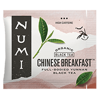 This is the picture of Chinese Breakfast™ under the category NumiTeaStore@Bulk@Black in Numi Organic Tea. Click to add to cart.