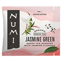 This is the picture of Jasmine Green under the category NumiTeaStore@Bulk@Green in Numi Organic Tea. Click to add to cart.