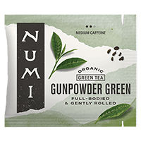 This is the picture of Gunpowder Green under the category NumiTeaStore@Bulk@Green in Numi Organic Tea. Click to add to cart.