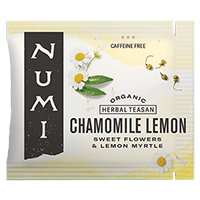 This is the picture of Chamomile Lemon under the category NumiTeaStore@Bulk@Herbal in Numi Organic Tea. Click to add to cart.