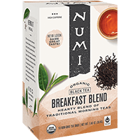 This is the picture of Breakfast Blend under the category NumiTeaStore@IcedTea@Teabags in Numi Organic Tea. Click to add to cart.