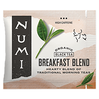 This is the picture of Breakfast Blend under the category NumiTeaStore@Bulk@Black in Numi Organic Tea. Click to add to cart.