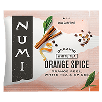 This is the picture of Orange Spice under the category NumiTeaStore@Bulk@White in Numi Organic Tea. Click to add to cart.
