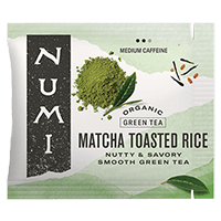 This is the picture of Toasted Rice under the category NumiTeaStore@Bulk@Green in Numi Organic Tea. Click to add to cart.