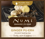 This is the picture of Ginger Pu·erh under the category NumiTeaStore@Bulk@Puerh in Numi Organic Tea. Click to add to cart.
