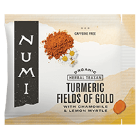 This is the picture of Fields of Gold under the category NumiTeaStore@Bulk@Turmeric in Numi Organic Tea. Click to add to cart.