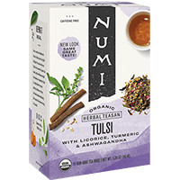 This is the picture of Tulsi under the category NumiTeaStore@IcedTea@Teabags in Numi Organic Tea. Click to add to cart.