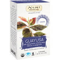 This is the picture of Guayusa under the category NumiTeaStore@IcedTea@Teabags in Numi Organic Tea. Click to add to cart.