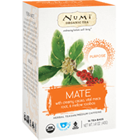 This is the picture of Mate under the category NumiTeaStore@IcedTea@Teabags in Numi Organic Tea. Click to add to cart.