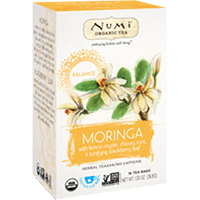 This is the picture of Moringa under the category NumiTeaStore@IcedTea@Teabags in Numi Organic Tea. Click to add to cart.