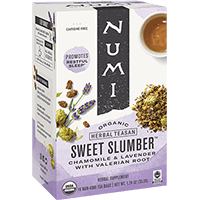 This is the picture of Sweet Slumber under the category NumiTeaStore@ByType@StayHealthy in Numi Organic Tea. Click to add to cart.