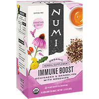 This is the picture of Immune Boost under the category NumiTeaStore@ByType@StayHealthy in Numi Organic Tea. Click to add to cart.