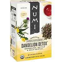 This is the picture of Dandelion Detox under the category NumiTeaStore@ByType@StayHealthy in Numi Organic Tea. Click to add to cart.