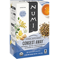 This is the picture of Congest Away under the category NumiTeaStore@ByType@StayHealthy in Numi Organic Tea. Click to add to cart.