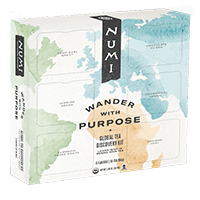 This is the picture of Wander With Purpose Gift Box under the category NumiTeaStore@Gifts@TeaBag in Numi Organic Tea. Click to add to cart.