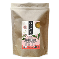 This is the picture of Jasmine Green (loose) under the category NumiTeaStore@LooseTea@Green in Numi Organic Tea. Click to add to cart.