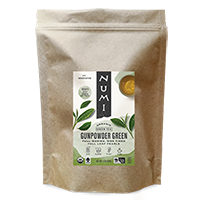 This is the picture of Gunpowder Green (loose) under the category NumiTeaStore@LooseTea@Green in Numi Organic Tea. Click to add to cart.