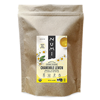 This is the picture of Chamomile Lemon (loose) under the category NumiTeaStore@LooseTea@Herbal in Numi Organic Tea. Click to add to cart.