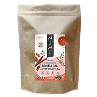This is the picture of Rooibos Chai (loose) under the category NumiTeaStore@LooseTea@Herbal in Numi Organic Tea. Click to add to cart.