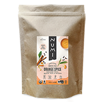 This is the picture of Orange Spice (loose) under the category NumiTeaStore@LooseTea@White in Numi Organic Tea. Click to add to cart.