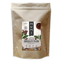 This is the picture of Chocolate Pu·erh (loose) under the category NumiTeaStore@LooseTea@Puerh in Numi Organic Tea. Click to add to cart.