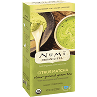 This is the picture of Citrus Matcha under the category NumiTeaStore@LooseTea@Matcha in Numi Organic Tea. Click to add to cart.