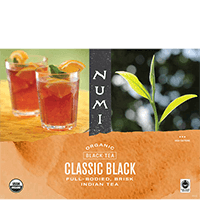 This is the picture of Classic Black under the category NumiTeaStore@FairTrade@Black in Numi Organic Tea. Click to add to cart.