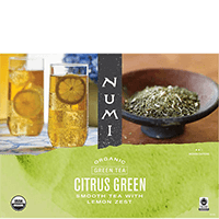 This is the picture of Citrus Green under the category NumiTeaStore@IcedTea@GallonBags in Numi Organic Tea. Click to add to cart.