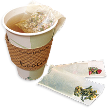 This is the picture of T-Sac Tea Filters under the category NumiTeaStore@Teaware@TeaService in Numi Organic Tea. Click to add to cart.