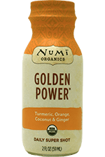 This is the picture of Golden Power Daily Super Shot under the category NumiTeaStore@DailySuperShots in Numi Organic Tea. Click to add to cart.