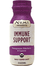 This is the picture of Immune Support Daily Super Shot under the category NumiTeaStore@DailySuperShots in Numi Organic Tea. Click to add to cart.