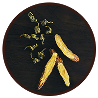 This is the picture of Golden Oolong (loose) under the category NumiTeaStore@LooseTea@Nspire in Numi Organic Tea. Click to add to cart.