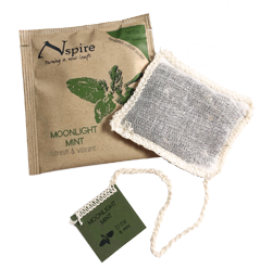 This is the picture of Moonlight Mint  under the category NumiTeaStore@Nspire@Hot in Numi Organic Tea. Click to add to cart.