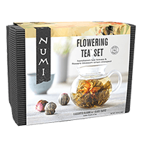 This is the picture of Flowering Tea™ Set under the category NumiTeaStore@FloweringTea@Gifts in Numi Organic Tea. Click to add to cart.
