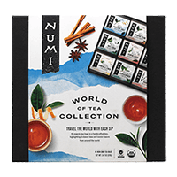This is the picture of World of Tea Collection under the category NumiTeaStore@Teabag@Assortment in Numi Organic Tea. Click to add to cart.